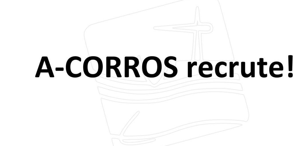 A-CORROS recrute! seul-1